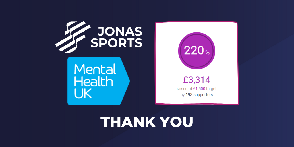 Jonas Sports and Mental Health UK