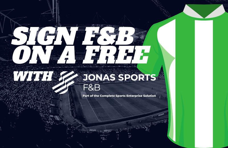 Jonas Sports F&B on a free transfer