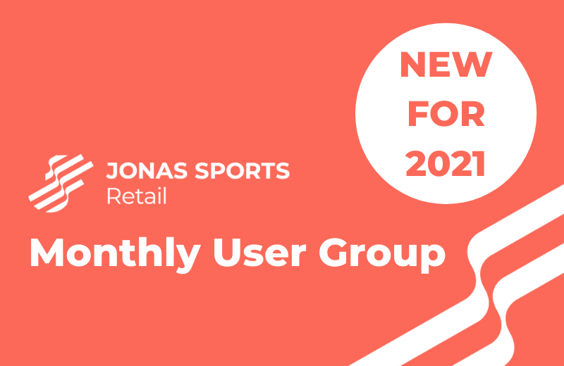 Jonas Sports Retail launch Monthly User Group